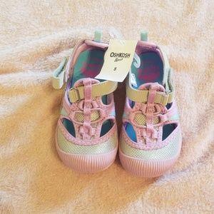 Osh kosh toddler girls athletic sandals.